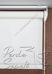 Açık Krem Pearl Stor Perde - 4