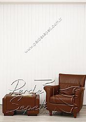 Beyaz Klasik Seri Dikey Pvc Perde - 2