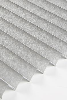 Gri Lantana Seri 15mm Cam Balkon Plise Perde