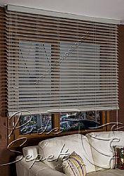 Gri Truwood 50mm Ahşap Görünümlü Jaluzi Perde - 5