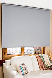 İkili Perde (Ön Beyaz Kelebek Desenli Deluxe Dantella Serisi-Arka Koyu Gri Simli Neo Classic Serisi )