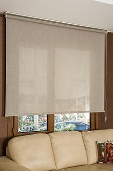 Kahverengi Kırçıllı Cosmo Screen Stor Perde