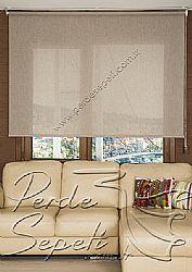 Kahverengi Kırçıllı Cosmo Screen Stor Perde - 2