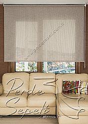 Kahverengi Örgülü Cosmo Screen Stor Perde - 2