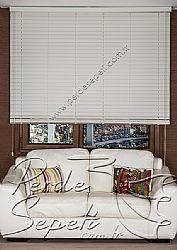 Kirli Beyaz Truwood 50mm Ahşap Görünümlü Jaluzi Perde - 3