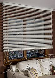 Kirli Beyaz Truwood 50mm Ahşap Görünümlü Jaluzi Perde - 5