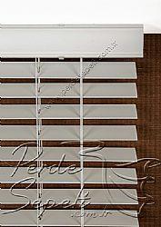 Kirli Beyaz Truwood 50mm Ahşap Görünümlü Jaluzi Perde - 6