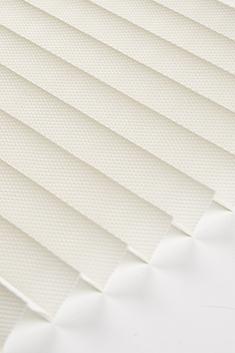 Krem Frezya Seri 15mm Cam Balkon Plise Perde