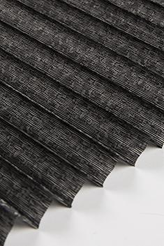 Siyah Anemon Seri 15mm Cam Balkon Plise Perde
