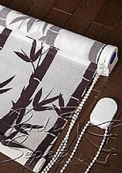 Bambu Desenli Design Tül Stor Perde - 5