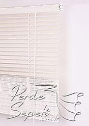 Beyaz Ahşap Jaluzi 25mm Perde - 6
