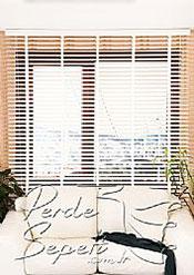 Pavlonya Ağacı Mat Beyaz 50mm Ahşap Jaluzi - 3
