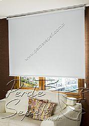 Beyaz Basic Blackout Serisi Stor Perde - 1