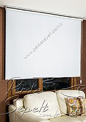Beyaz Basic Blackout Serisi Stor Perde - 3