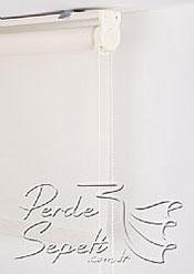 Beyaz Basic Stor Perde - 5
