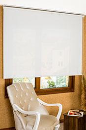 Beyaz Cam Elyaf Screen Stor Perde