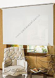 Beyaz Cam Elyaf Screen Stor Perde - 1