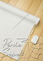 Beyaz Cam Elyaf Screen Stor Perde - 5