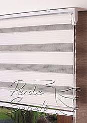 Beyaz Exotic Zebra Perde - 6