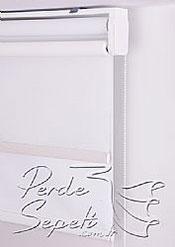 İkili Perde (Ön Beyaz Tül Stor-Arka Kırık Beyaz Karartma Stor) - 6