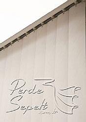 Beyaz Kırçıllı Bombeli Seri Dikey Pvc Perde - 6