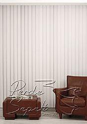 Beyaz Klasik Seri Dikey Pvc Perde - 3
