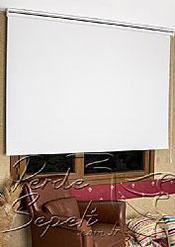 Beyaz Neo Classic Blackout Stor Perde - 3