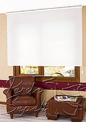 Beyaz Transparan Güneşlik Stor Perde - 1