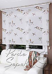 Kuşlar Design Stor Perde - 3