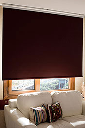 Bordo Linen Blackout Stor Perde