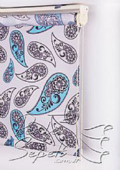 Çiçekli Desen Baskılı Klasik Stor Perde - 5