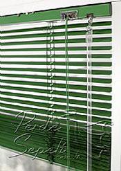 Çimen Yeşili Alüminyum Jaluzi 16mm Perde - 5