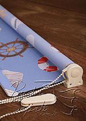 Denizci Baskılı Klasik Stor Perde - 4