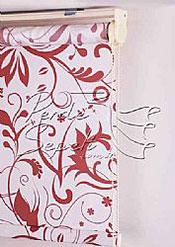 Floral Baskılı Klasik Stor Perde - 5
