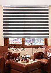 Füme Exotic Zebra Perde - 2