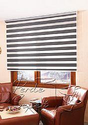 Füme Exotic Zebra Perde - 1