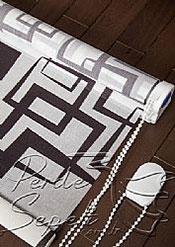 Geometrik Desenli Design Tül Stor Perde - 5