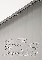 Gri Klasik Seri Dikey Pvc Perde - 6
