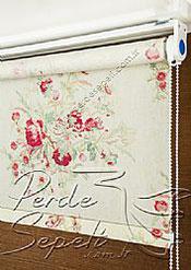 Gül Kurusu Rose Posy Baskılı Klasik Stor Perde - 4