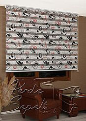 Hollywood Baskılı Zebra Perde - 4