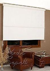İkili Perde( Ön Beyaz Çiçek Dantella Arka Beyaz  Neo Classic  Stor) - 5