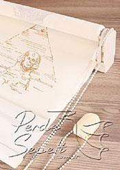 İkili Perde( Ön Dünya Harikaları Design Stor Arka Ekru Neo Classic Stor ) - 6