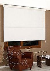 İkili Perde( Ön Ekru Çiçek Dantella Arka Beyaz Neo Classic  Stor) - 5