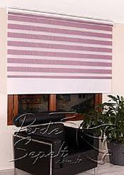 İkili Perde( Ön Leylak Panorama Zebra Arka Beyaz Galaxy Stor) - 4