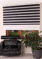 İkili Perde( Ön Siyah Panorama Zebra Arka Beyaz Galaxy Stor) - 1