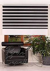 İkili Perde( Ön Siyah Panorama Zebra Arka Beyaz Galaxy Stor) - 3