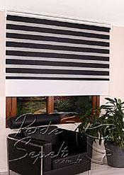 İkili Perde( Ön Siyah Panorama Zebra Arka Beyaz Galaxy Stor) - 4
