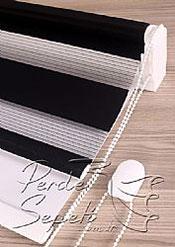 İkili Perde( Ön Siyah Panorama Zebra Arka Beyaz Galaxy Stor) - 6