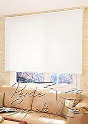 İkili Perde(Ön Beyaz Çiçek Desenli Dantella Stor Perde Arka Beyaz Basic Stor Perde) - 3
