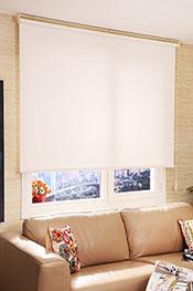 İkili Perde(Ön Beyaz Kelebek Desenli Deluxe Dantella Arka Beyaz Neo Classic Stor Perde) - 1
